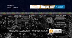Financial Website Homepage