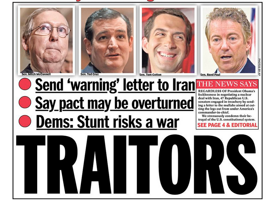 TRAITORS: GOP Leadership attempt to undermine Obama's Foreign Policy...Again