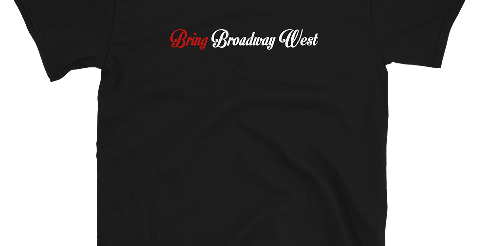 Mens Bring Broadway West Limited Black Tee
