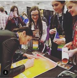 Lauren Boyd Signing Autographs