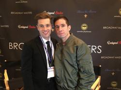 Director Paul McGill with Jon Rua