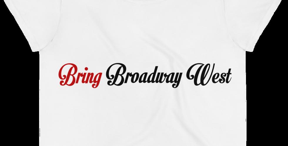 Women's Bring Broadway West Limited Crop Top