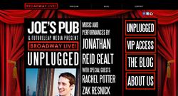Event Homepage Design
