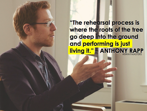 6 Words of Wisdom from Anthony Rapp