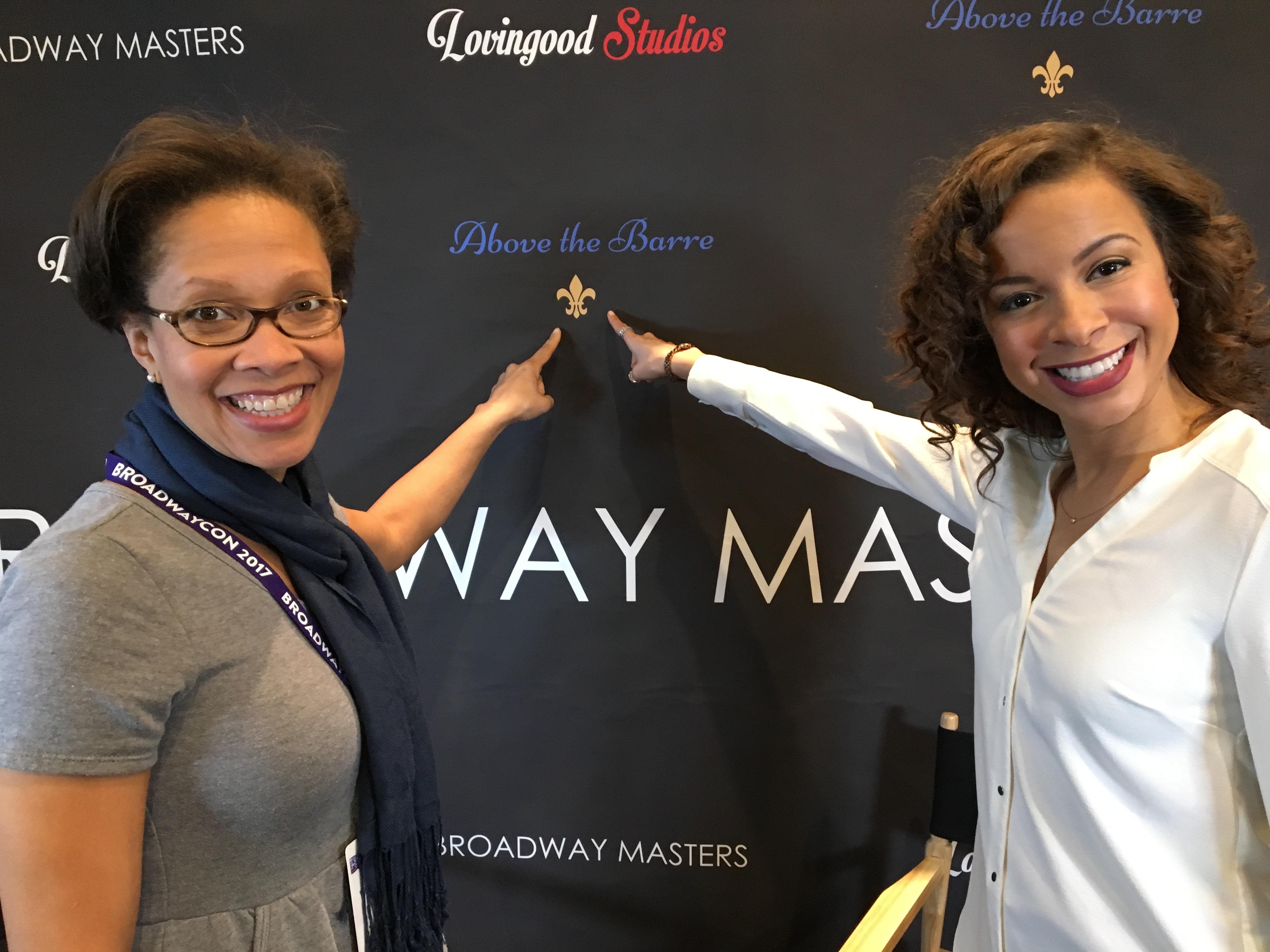 Sponsor Adrienne with Lexi Lawson