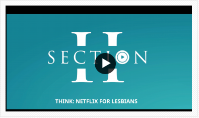 The Netflix for Lesbians, Section ii - is breaking the rules with Pride PAC
