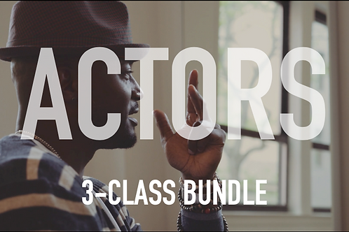Actors 3-Class Bundle