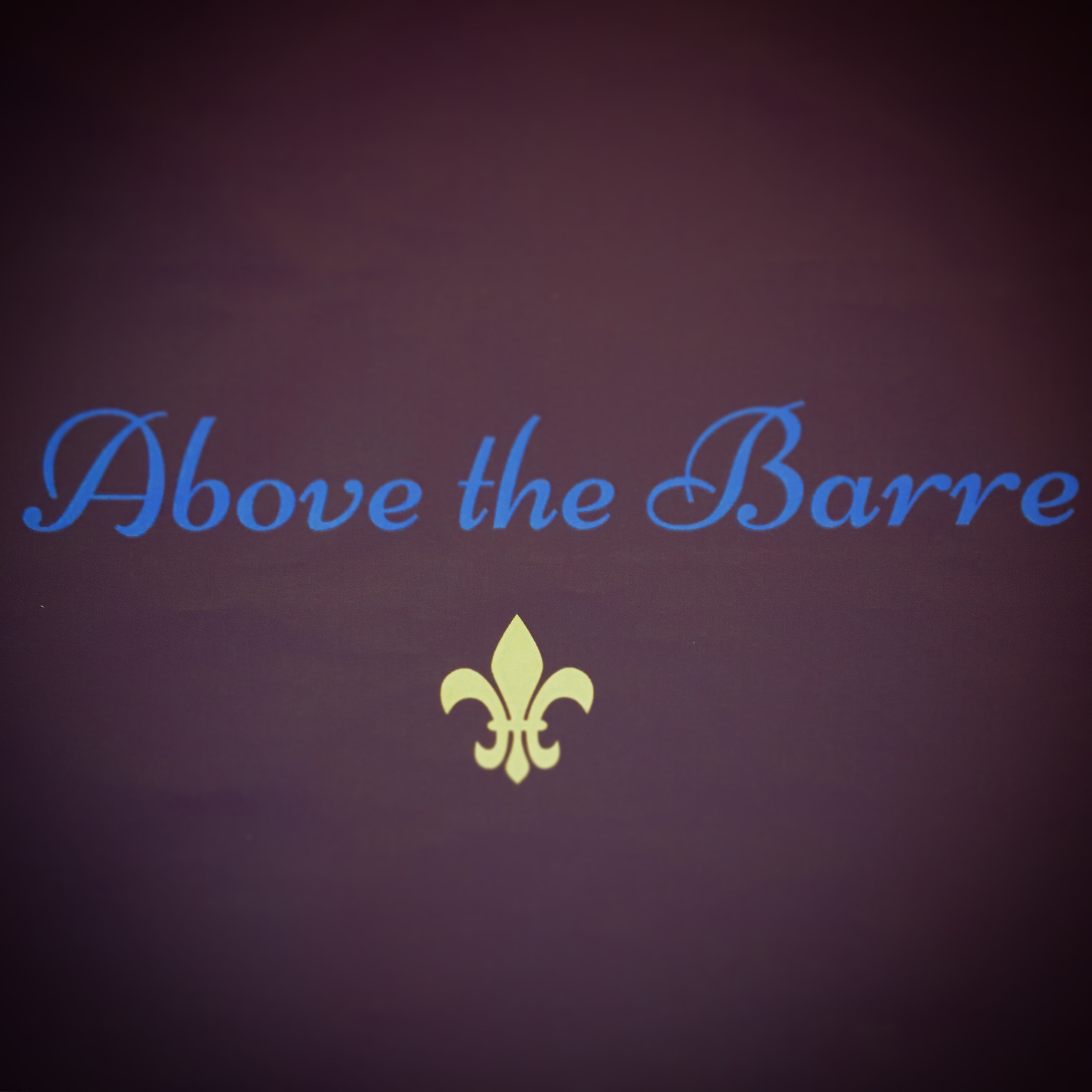 Our Sponsor 'Above the Barre'