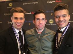 The creative team with Jon Rua