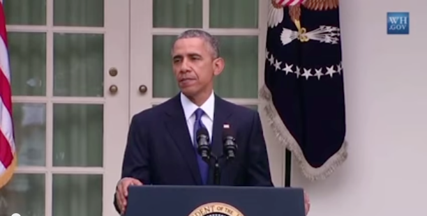 WATCH: President Obama delivers powerful response to SCOTUS marriage ruling