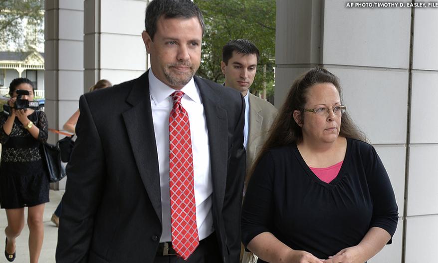 Will It Be Jail For Kim Davis?
