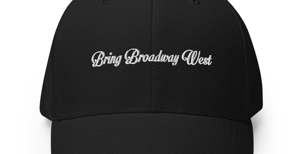 Bring Broadway West Limited Embroidered Dad Hat