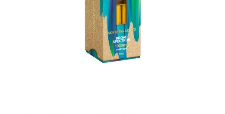 Just CBD VAPE INDICA  NORTHERN LIGHTS 1000 MG 1ML .03 %  THC