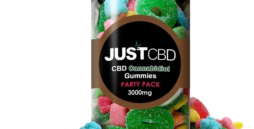 CBD Gummies 3000 MG Party Pack