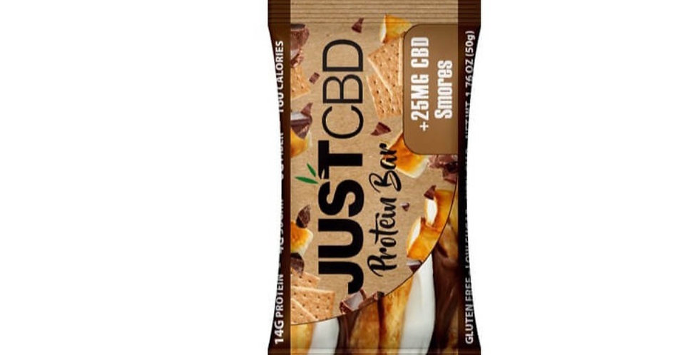 Just CBD Protein Peanut Butter  Power 25 MG CBD /Must Buy 3 Bars Min. For Delv