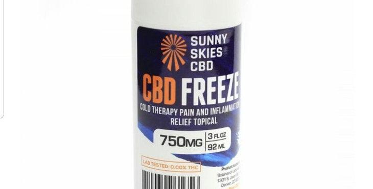 Sunny Skies CDB 750 Mg Freeze Roll On