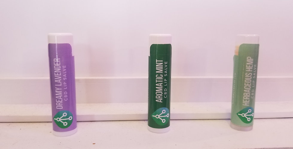 CBD Lip Salve 3 Flavors and 3 Min to order on line