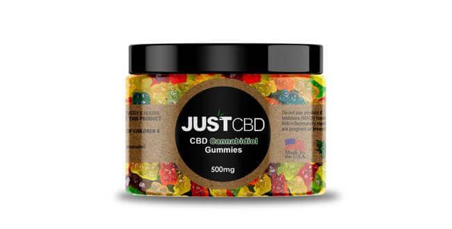 CBD Gummies 500mg Jar