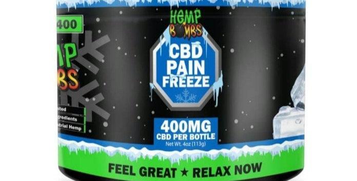 Hemp Bomb CBD PAIN FREEZE 400 Mg