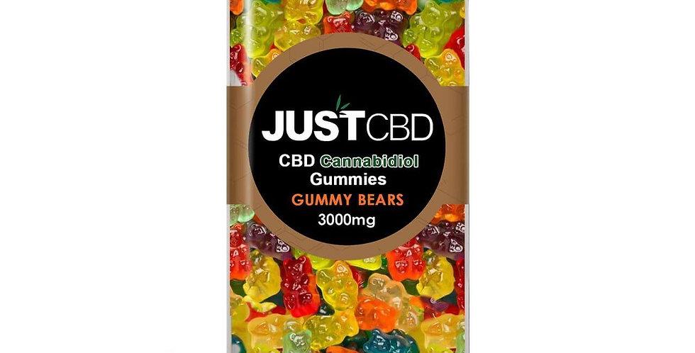 CBD Gummies 3000mg Jar