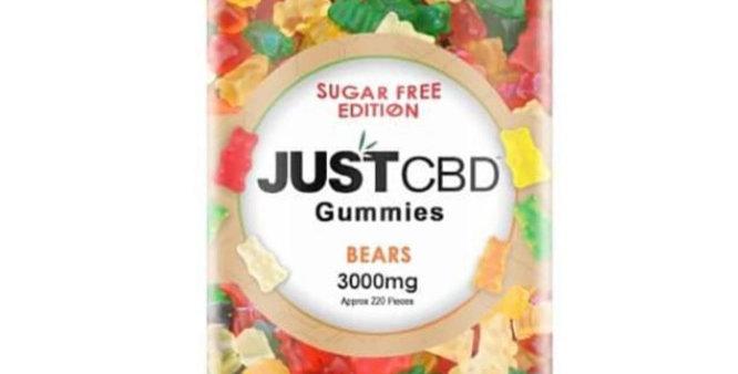 CBD Sugar Free 3000 MG Gummies