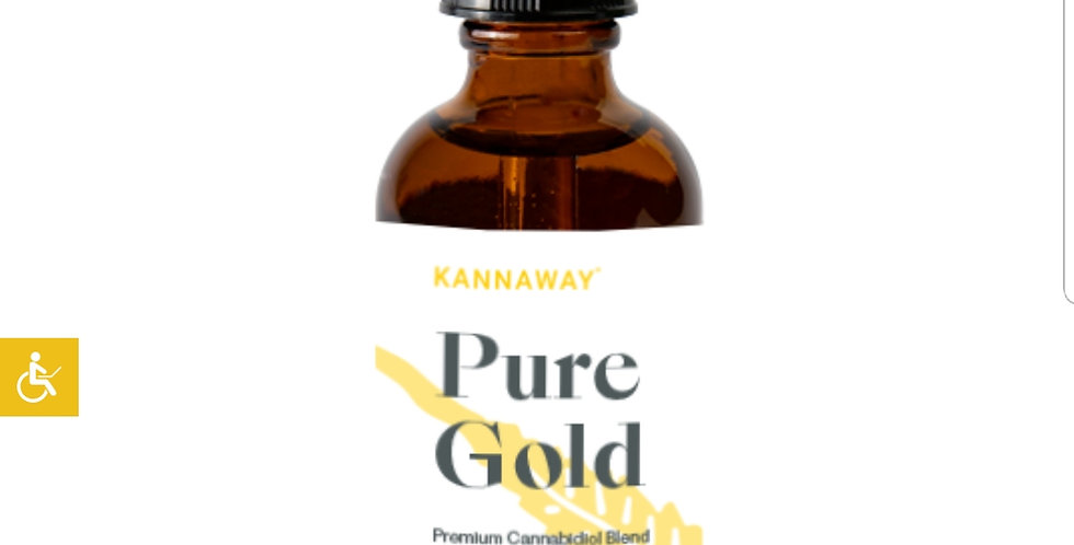 KANNAWAY PURE GOLD 250 MG Tincture