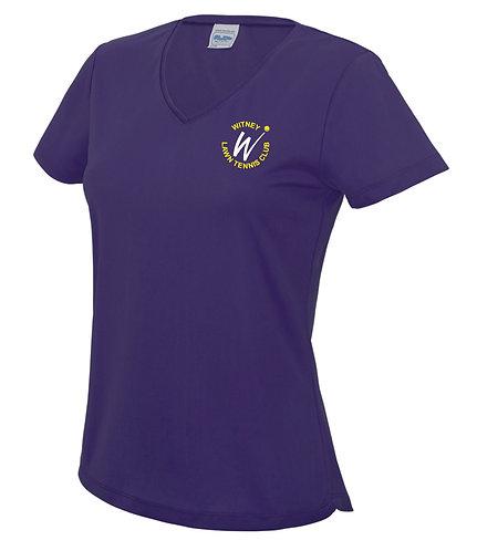 V Neck T-Shirt (Ladies) - WLTC