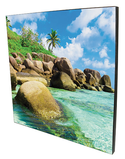 Wooden Wall Mounted Photo Panel