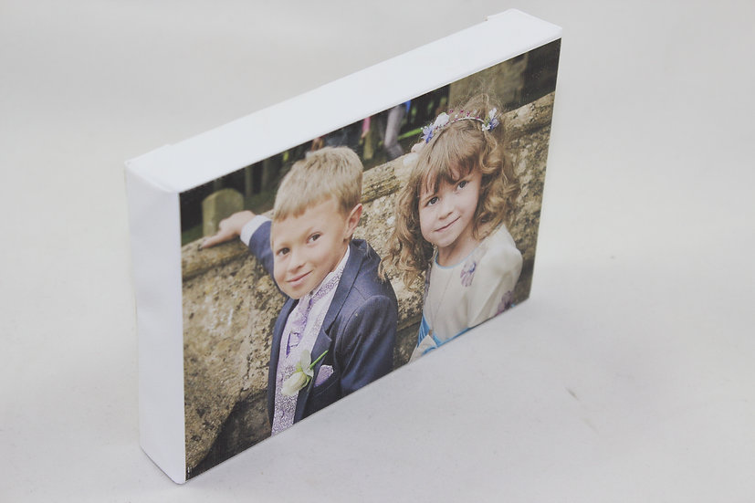 Canvas Print  With  Custom Wooden Frame