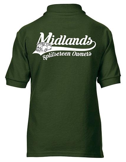 Midlands Splitscreen Owners Club - Polo - Children