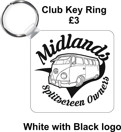 Midlands Splitscreen Owners Club - Keyring