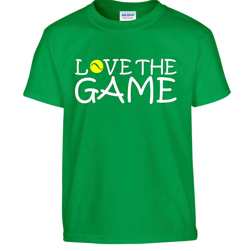 'Love The Game' Cotton T Shirt