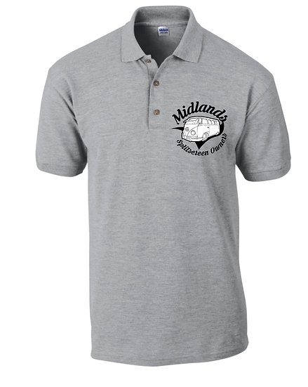 Midlands Splitscreen Owners Club Polo Shirt - Mens