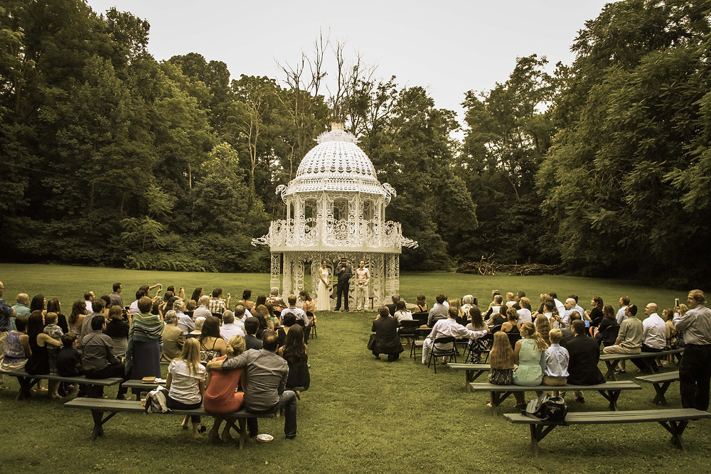 A perfect location for your Ceremony, Cocktail Hour, or gathering!