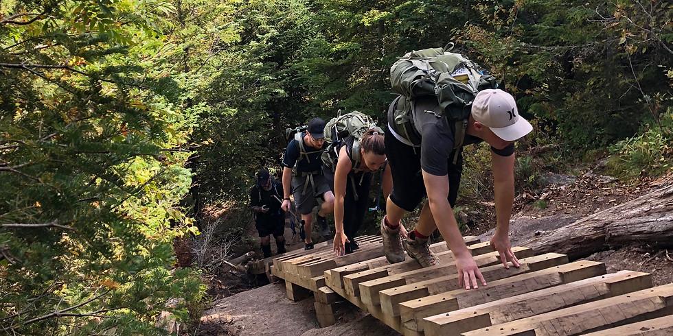 Big Slide & Camp - Challenging