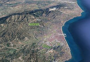 Aerial Photo Costa del sol Back to La ti