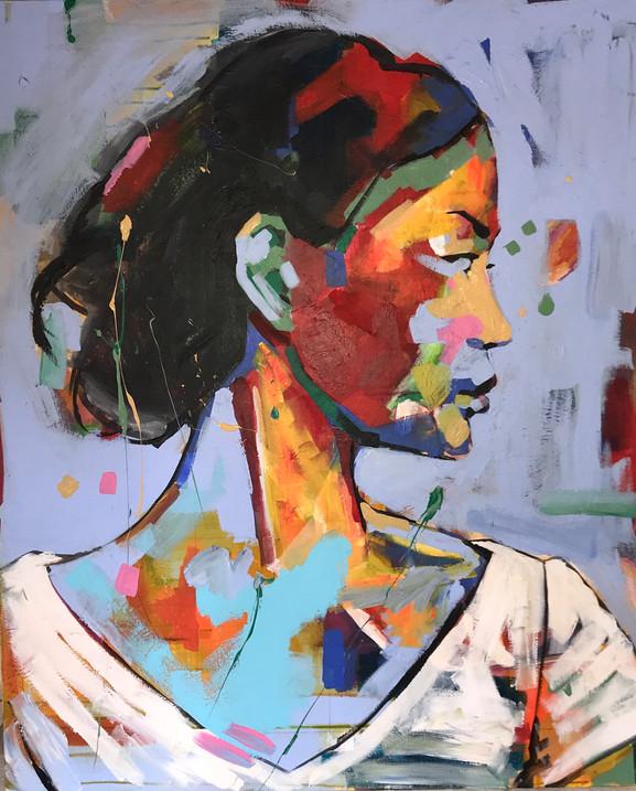 Portrait Chinese woman