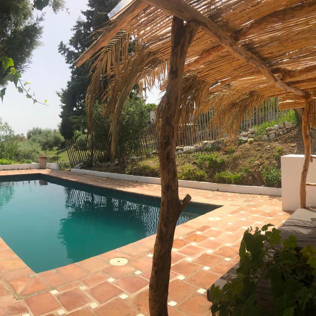 Pool Back to La Tierra
