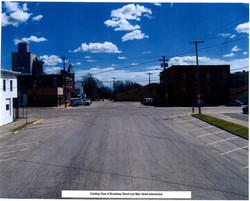 Existing View of Street Intersection