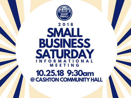 Shop Small 2018: Learn more