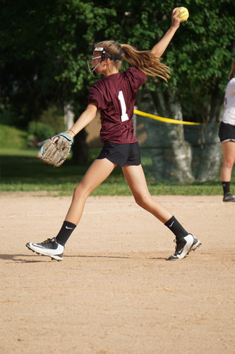 Softball during Summer Rec
