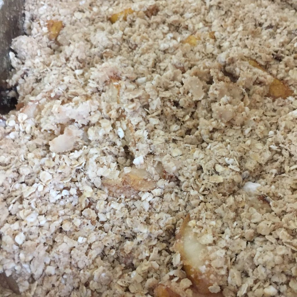 Oats Autumn Pear Crisp