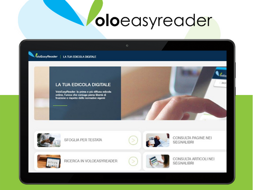 L'Edicola Digitale VoloEasyReader consolida la sua leadership per il business e le istituzioni