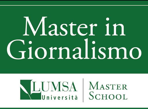Master in Giornalismo di LUMSA