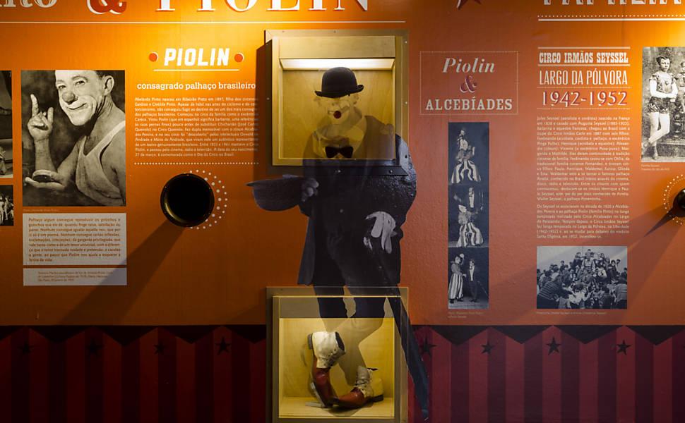 Exposição sobre a História do Circo