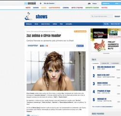Churumello Circus na Mídia, jornal