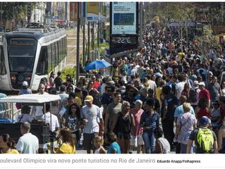 GALERIA: Churumello Circus marcou presença no Boulevard Olímpico. Confira!