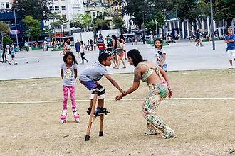 Oficina, perna de pau, aulas de perna de pau, perna-de-pau, pernalta, Rio de Janeiro