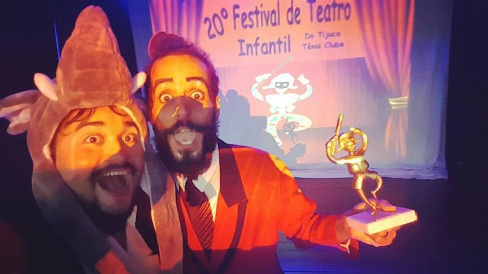 Gramellôs, o Show na premiação do Festival
