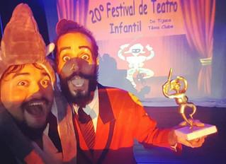 Gramellôs, o Show é premiado no Festival de Teatro Infantil do Tijuca Tênis Clube